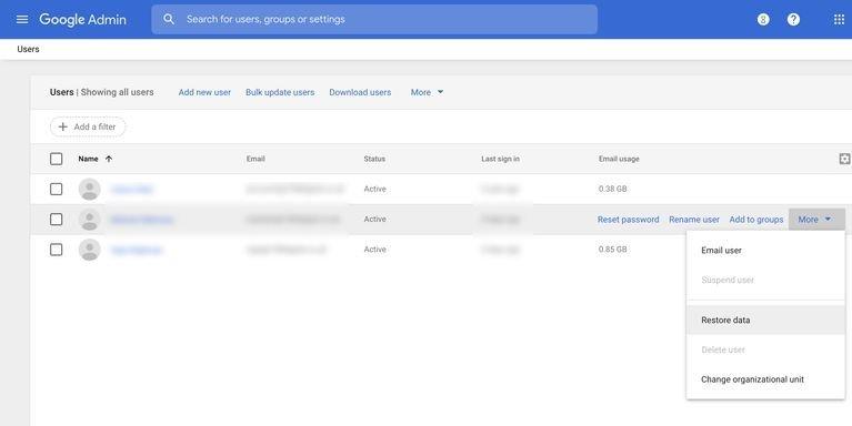 restore data google workspace چگونه ایمیلهای حذف شده در جیمیل را بازیابی کنیم؟ اخبار IT