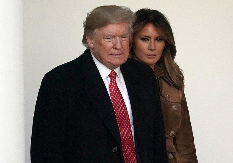 trumpdonald trumpmelania 112619gn6 lead دونالد ترامپ و همسرش به کرونا مبتلا شدند اخبار IT