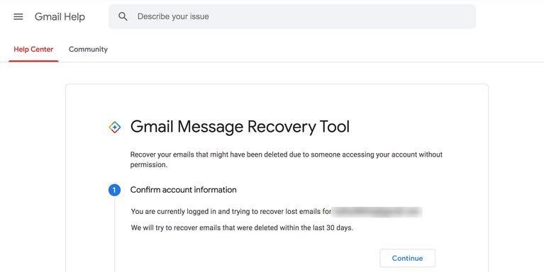 use gmail email recovery چگونه ایمیلهای حذف شده در جیمیل را بازیابی کنیم؟ اخبار IT