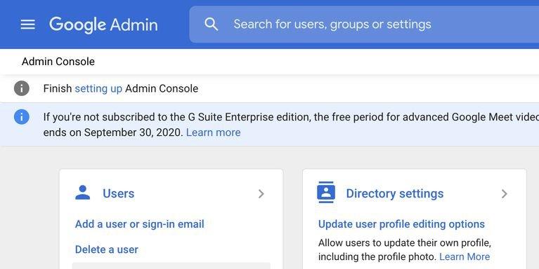 view workspace users چگونه ایمیلهای حذف شده در جیمیل را بازیابی کنیم؟ اخبار IT