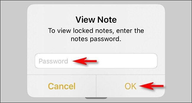 view locked note یک راه ساده برای گذاشتن پسورد روی عکسها در آیفون و آیپد اخبار IT