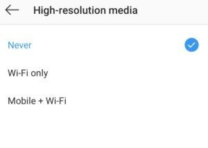 ل2 چهار ترفند ساده و کاربردی برای کاهش مصرف اینترنت در اینستاگرام اخبار IT