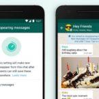 آپدیت جدید واتساپ ارسال پیام پنهان شونده را ممکن میکند