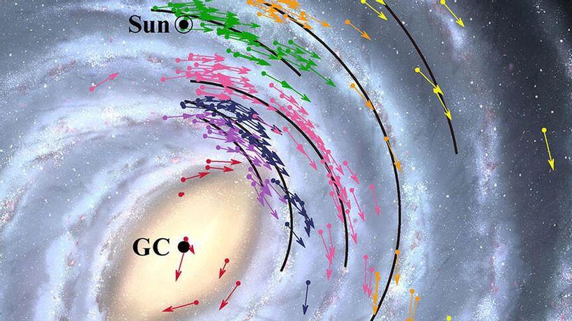 1da9c00e b908 595e 8dcf 985a1e0dd0e8 زمین ۲ هزار سال نوری از تصورات قبلی به سیاهچاله کهکشان راهشیری نزدیکتر است اخبار IT