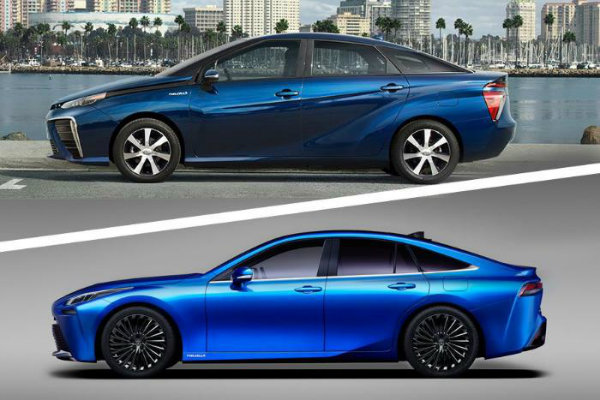 2016 2021 Toyota Mirai comparison 700 thb بامو میخواهد همکاریهای خود با تویوتا را گسترش دهد اخبار IT