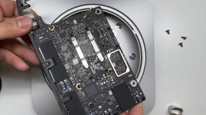 کالبدشکافی مک مینی ظاهر پردازنده اپل M1 را آشکار میکند [تماشا کنید]
