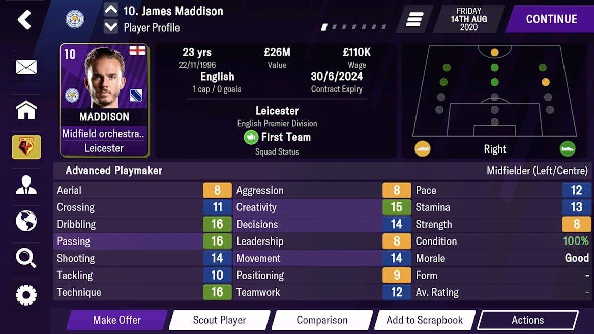 4 6 معرفی بازی Football Manager 2021؛ مربی بهترین تیمهای جهان باشید اخبار IT