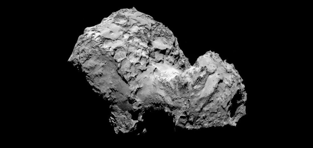 اخترشناسان روی یک دنبالهدار عنصر حیات پیدا کردند