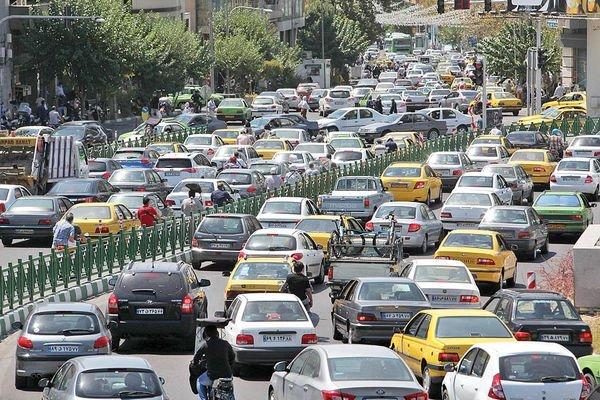 خودروهای غیربومی ساکن تهران