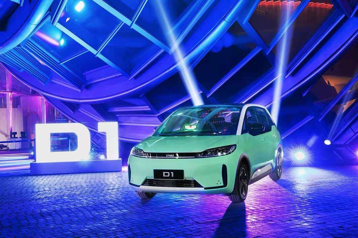خودروی الکتریکی D1