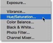 Choose hue saturation Ps چگونه در فتوشاپ دندانها را سفید و درخشنده کنیم؟ اخبار IT
