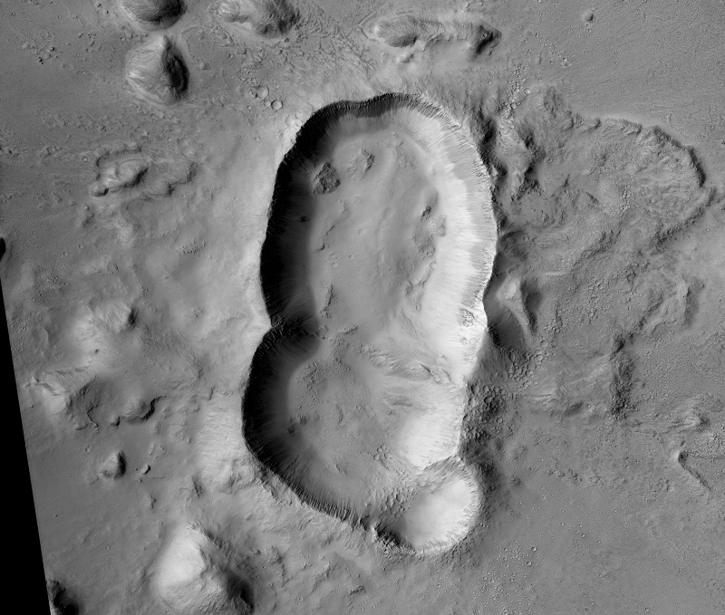 ESP 039147 1940 2 اخترشناسان یک دهانه سهگانه جدید روی مریخ کشف کردند اخبار IT