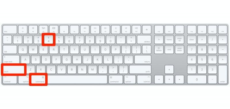 Mac Keyboard چگونه در کامپیوترهای مک اسکرین شات بگیریم؟ اخبار IT