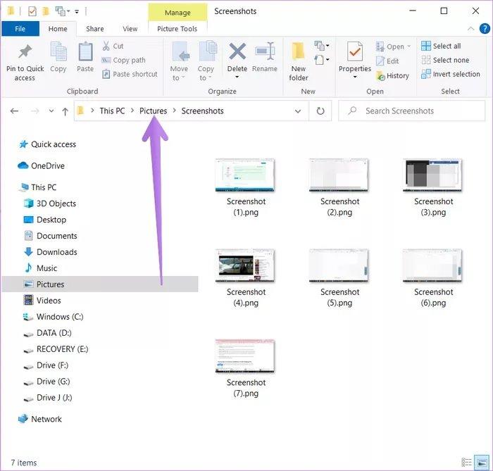 پرینت اسکرین در ویندوز ۱۰