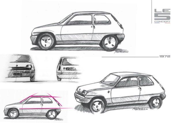 Renault Le 5 concept 1 رنو 5 مدل 2021؛ هاچبک جذابی که هرگز تولید نمیشود اخبار IT