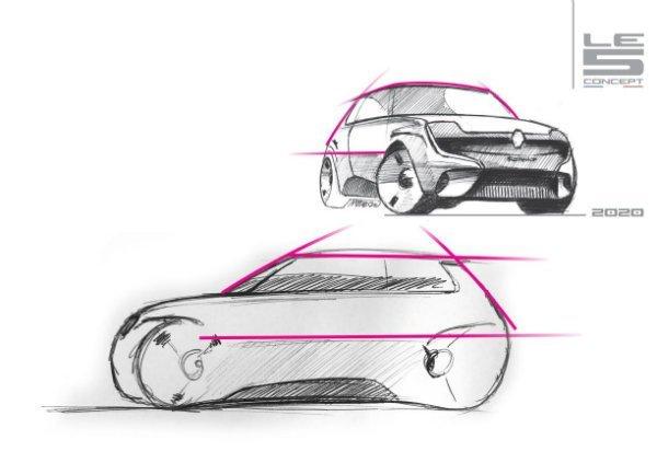 Renault Le 5 concept 2 رنو 5 مدل 2021؛ هاچبک جذابی که هرگز تولید نمیشود اخبار IT