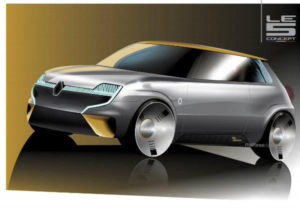 Renault Le 5 concept 3 رنو 5 مدل 2021؛ هاچبک جذابی که هرگز تولید نمیشود اخبار IT