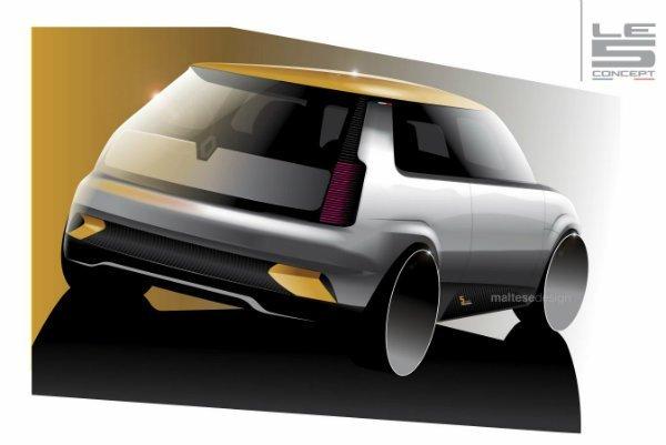 Renault Le 5 concept 4 رنو 5 مدل 2021؛ هاچبک جذابی که هرگز تولید نمیشود اخبار IT