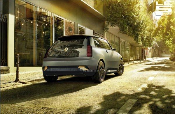 Renault Le 5 concept 6 رنو 5 مدل 2021؛ هاچبک جذابی که هرگز تولید نمیشود اخبار IT
