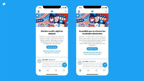 Screenshot 2020 11 07 How Facebook Twitter and Others Are Handling Election Misinformation4 w600 شبکههای اجتماعی چطور با اطلاعات کذب انتخاباتی مقابله کردند اخبار IT