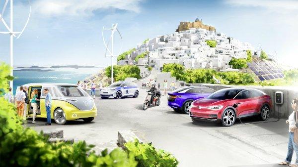 VW Group Astypalea 02 فولکس واگن جزیرهای در یونان را به بهشت خودروهای برقی تبدیل میکند اخبار IT