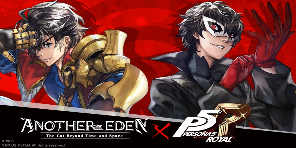 Another Eden's crossover with Persona 5