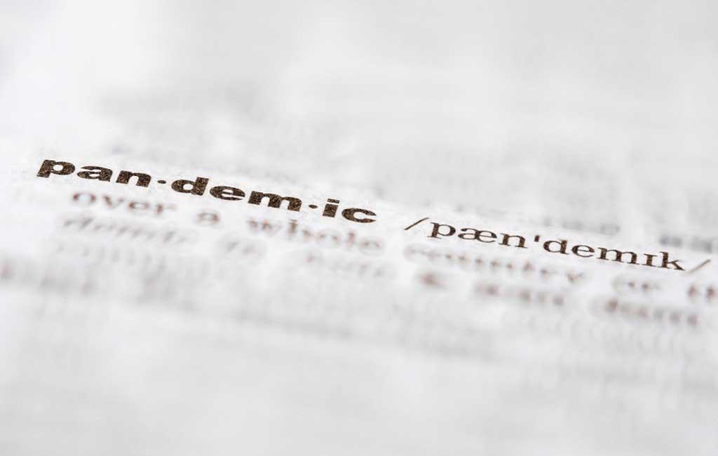 دیکشنری مریام-وبستر «پاندمی» را به عنوان لغت سال ۲۰۲۰ برگزید