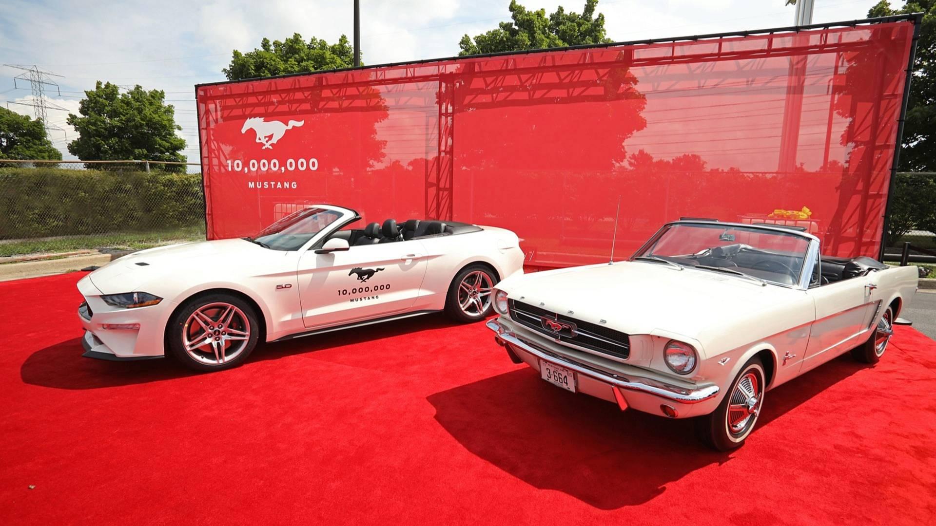 ford mustang 10 million 1 پرفروشترین خودرو اسپرت جهان از بحران کرونا در امان نماند؛ کاهش فروش فورد موستانگ اخبار IT