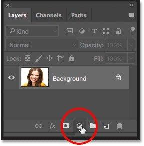 hue and Saturation laye adjustment in Photoshop چگونه در فتوشاپ دندانها را سفید و درخشنده کنیم؟ اخبار IT