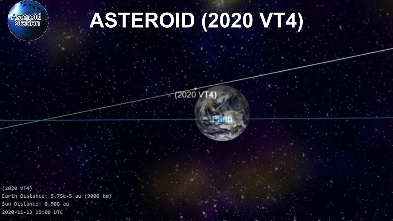 maxresdefault 3 سیارک 2020VT4 با عبور از فاصله ۳۷۰ کیلومتری زمین رکورد جدیدی به جا گذاشت اخبار IT
