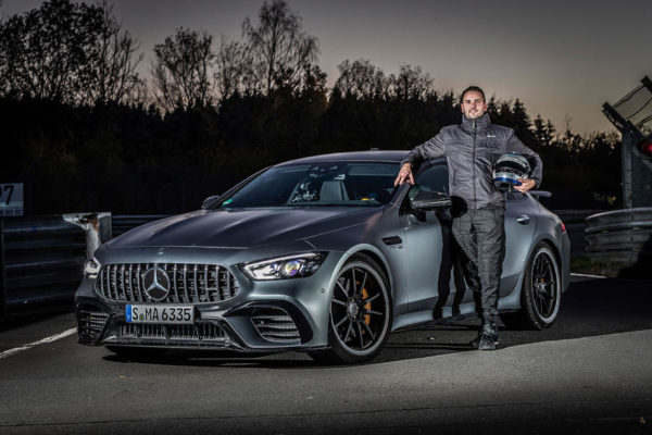 merc amg nurb 2020 093 600x400 مرسدس AMG GT 4 مجددا رکورد سریع ترین سدان پیست نوربرگ رینگ را از آن خود کرد اخبار IT