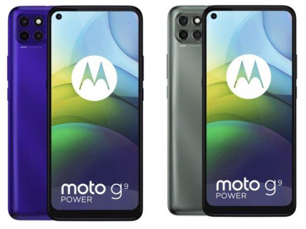 moto g9 power موتو G9 پاور با باتری ۶۰۰۰ میلی آمپر ساعتی معرفی شد اخبار IT