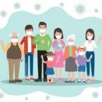 هر فرد مبتلا به کرونا نیمی از اعضای خانواده را طی چند روز بیمار میکند