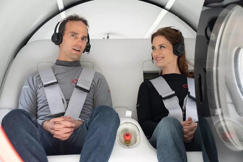 virgin hyperloop 1 ویرجین هایپرلوپ از اولین آزمایش جابجایی مسافران سربلند بیرون آمد اخبار IT