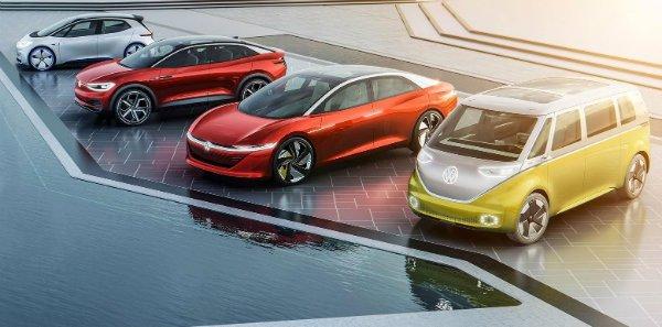 vw lineup 1543 فولکس واگن جزیرهای در یونان را به بهشت خودروهای برقی تبدیل میکند اخبار IT