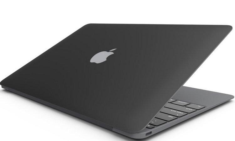 اپل احتمالا در پی عرضه مک بوک با بدنه مشکی مات است