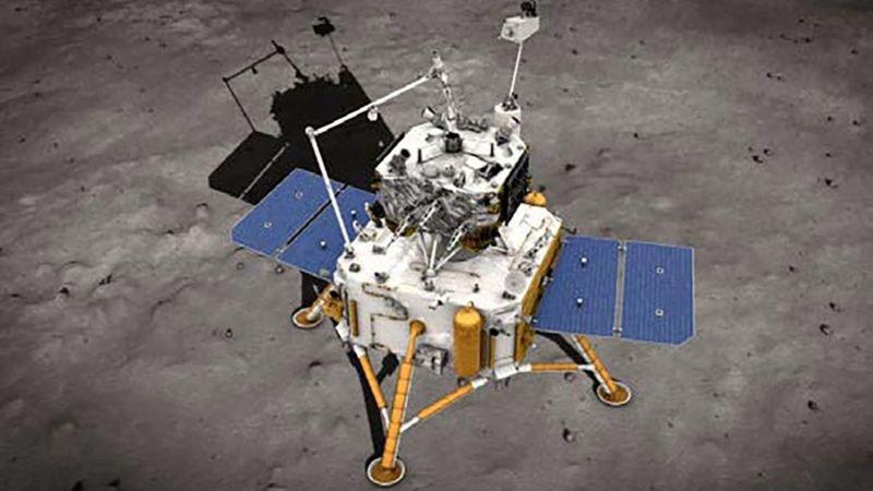 چین کاوشگر نمونهبردار خود را با موفقیت روی ماه فرود آورد