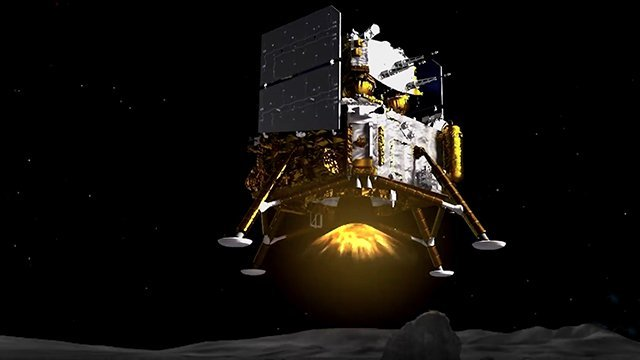 Chang'e 5 China Moon چین کاوشگر نمونهبردار خود را با موفقیت روی ماه فرود آورد اخبار IT