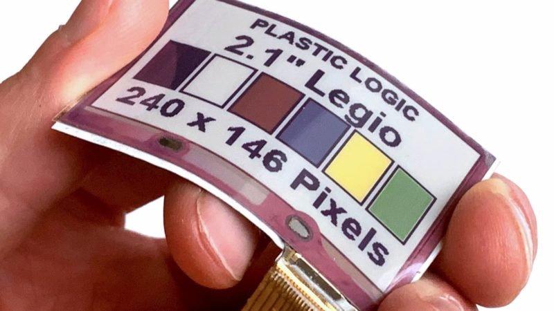 این نمایشگر E Ink رنگی و انعطافپذیر به لباسها و گجتهای پوشیدنی میآید