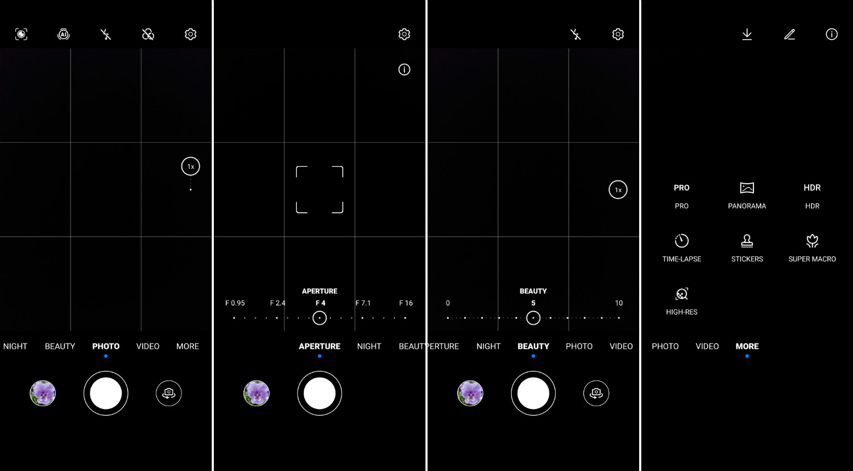 HuaweiY9a CameraUI بررسی دوربین گوشی میانرده هواوی Y9a اخبار IT
