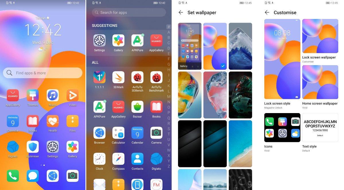HuaweiY9a UI02 بررسی گوشی میانرده هواوی Y9a اخبار IT