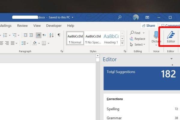Microsoft Editor 1