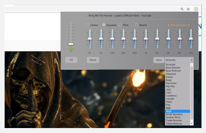 audio equaliser کاربردیترین افزونههای کروم برای موسیقی که باید روی مرورگر خود داشته باشید اخبار IT