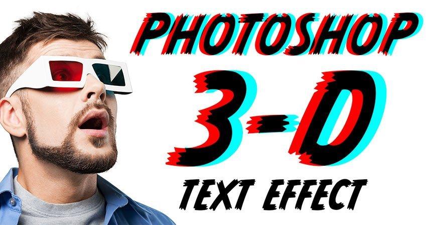 چگونه در فتوشاپ متن سه بعدی بسازیم؟
