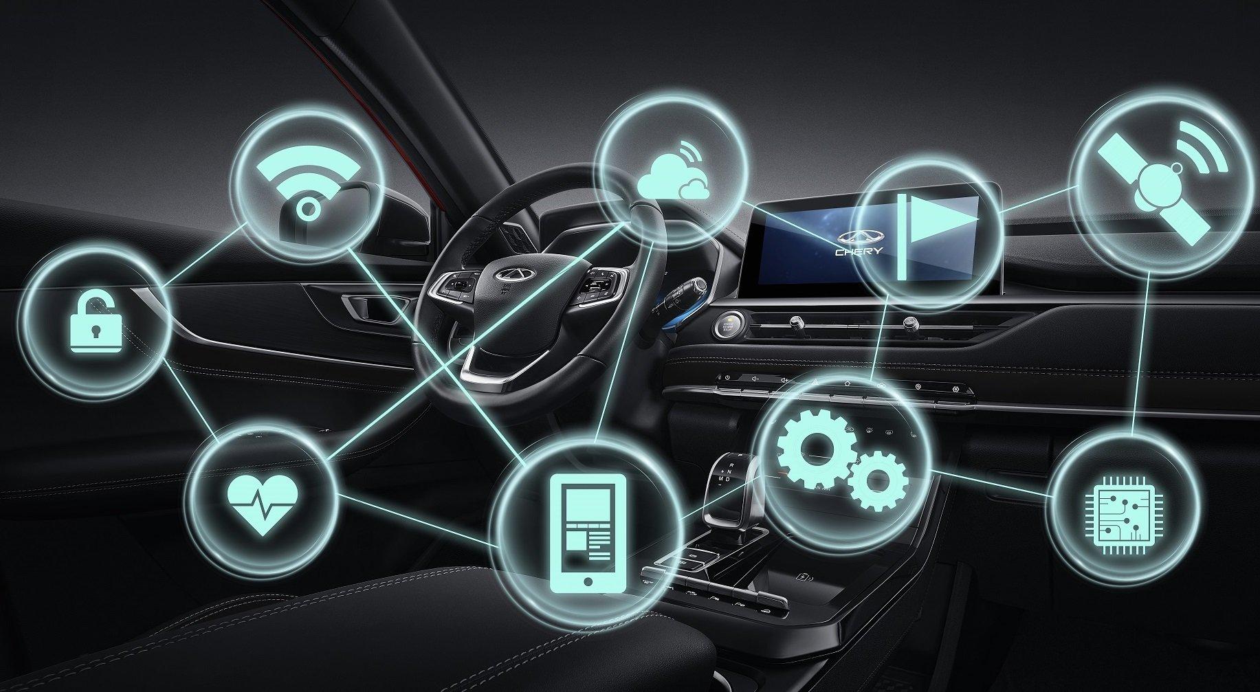 همکاری هواوی و چری برای توسعه فناوری خودروهای هوشمند
