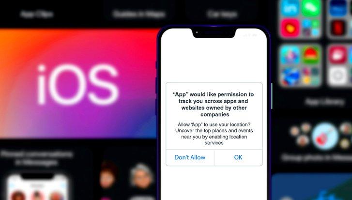 اعلان امنیتی آيفون برای جلوگیری از رهگیری کاربر در بتای iOS 14 ارائه شد