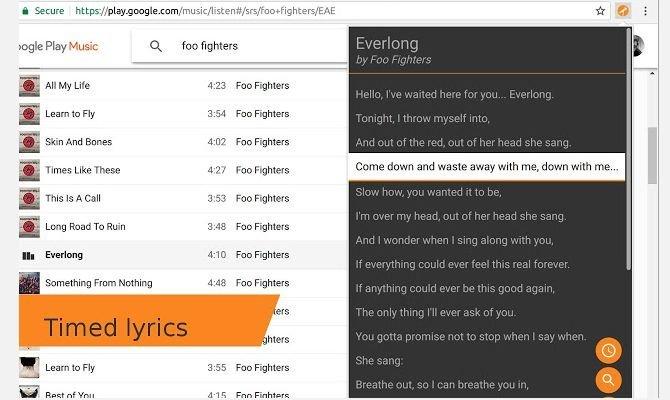 lyrics fetcher کاربردیترین افزونههای کروم برای موسیقی که باید روی مرورگر خود داشته باشید اخبار IT