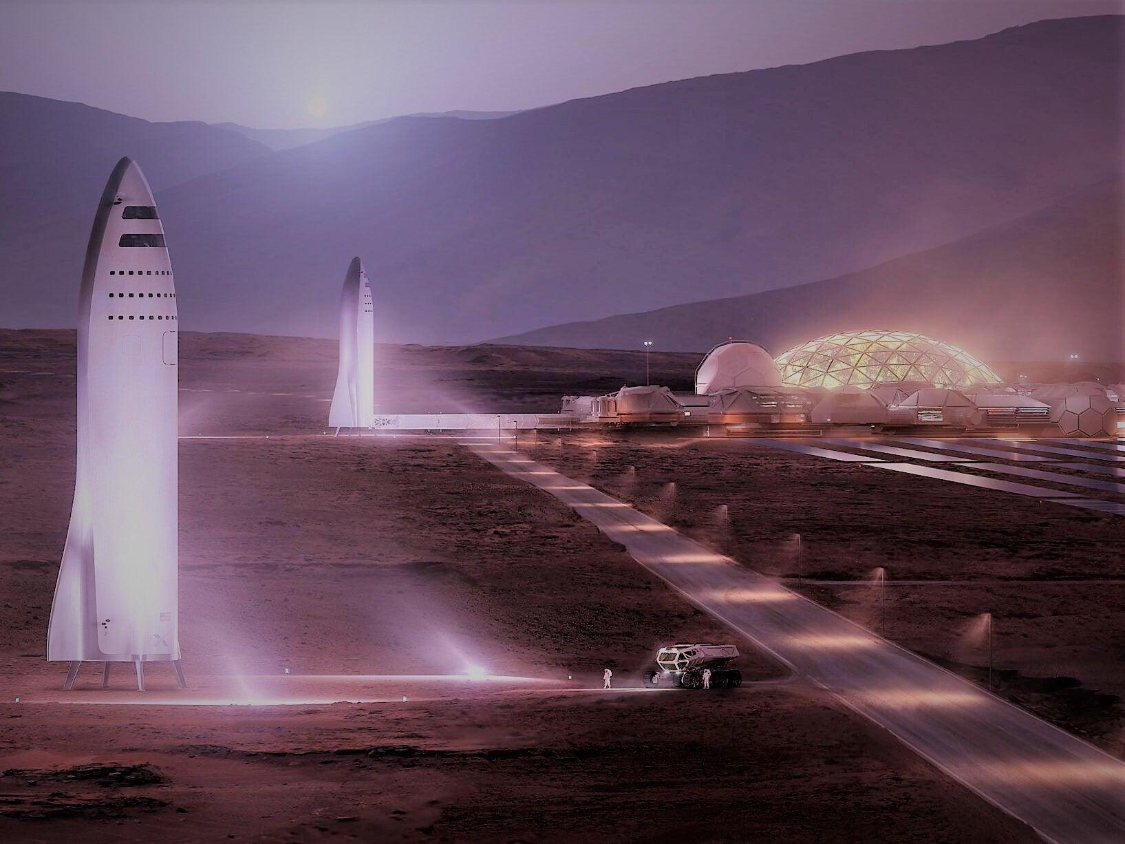 ایلان ماسک از پایهریزی اقتصاد مریخ بر مبنای رمزارزها میگوید