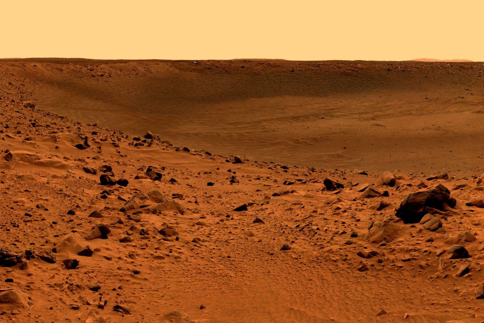 mars surface مدارگرد ردیاب گاز «اگزومارس» موفق به شناسایی گاز جدیدی در مریخ شد اخبار IT