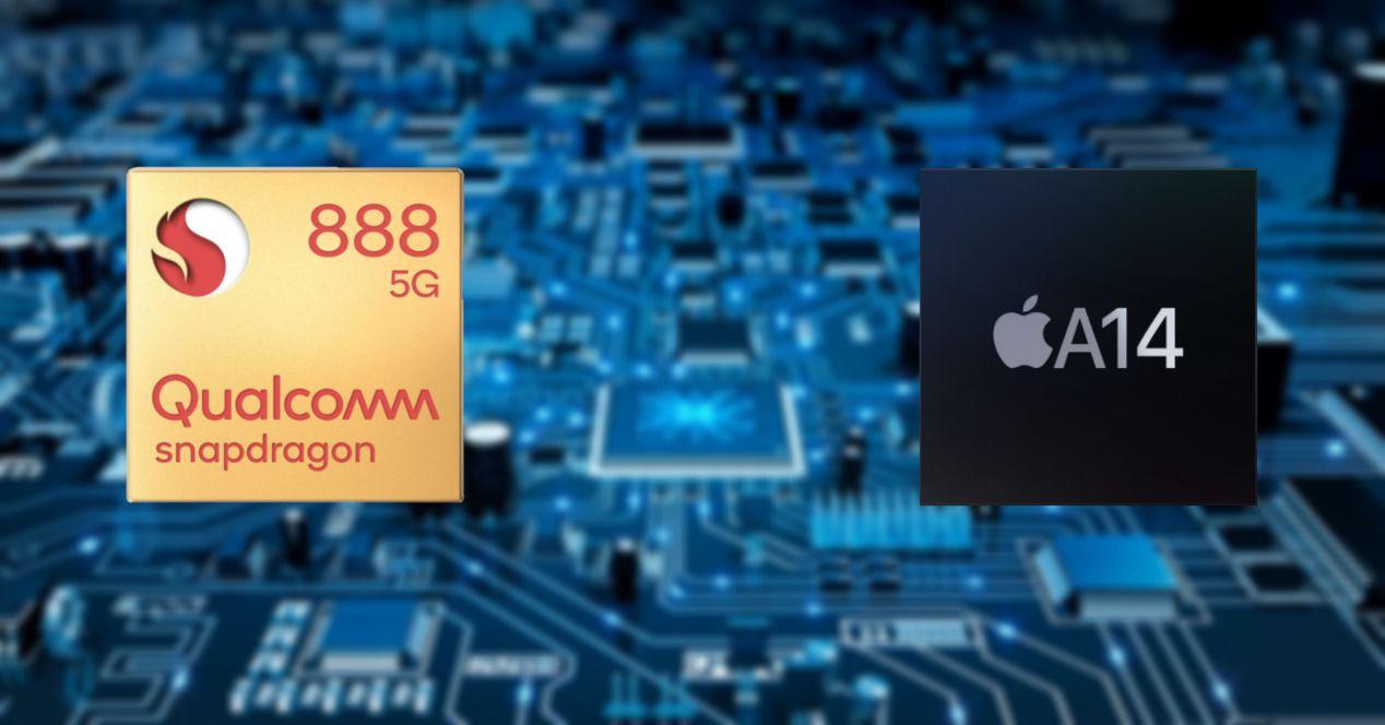 snapdragon 888 vs a14 bionic نبرد بزرگان: مقایسه چهار چیپست اسنپدراگون ۸۸۸، اگزینوس ۲۱۰۰، کایرین ۹۰۰۰ و A14 Bionic اخبار IT